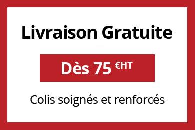 livraison gratuite à partir de 75 euro HT
