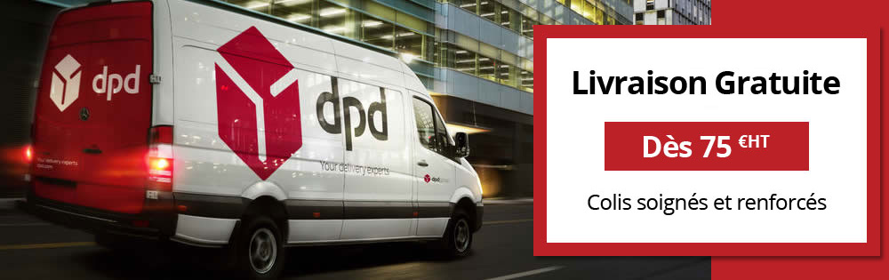 livraison de destructeurs de documents avec DPD